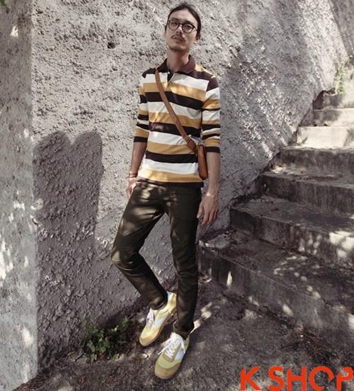 Áo phông polo nam dài tay đẹp cho teenboy năng động thời thượng hè 2017 phần 10