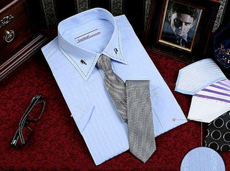 Hướng dẫn mặc áo sơ mi nam đẹp kết hợp cà vạt cho quý ông thêm vẻ nam tính thời trang hè 2014 phần 1