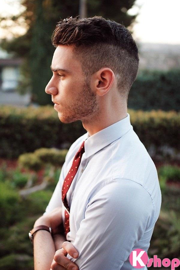 Những kiểu tóc nam đẹp lịch lãm ấn tượng mạnh mẽ xu hướng thời trang 2016 phần 1