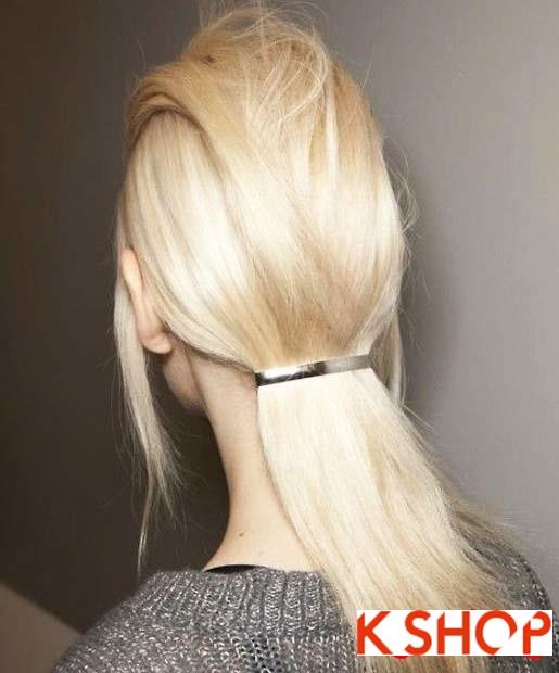 15 Kiểu tóc đuôi ngựa đẹp 2016 cho bạn gái trẻ trung dễ thương phần 12