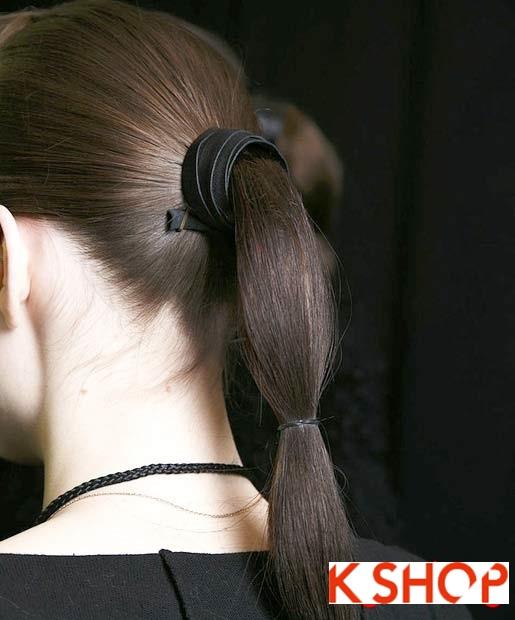 15 Kiểu tóc đuôi ngựa đẹp 2016 cho bạn gái trẻ trung dễ thương phần 13