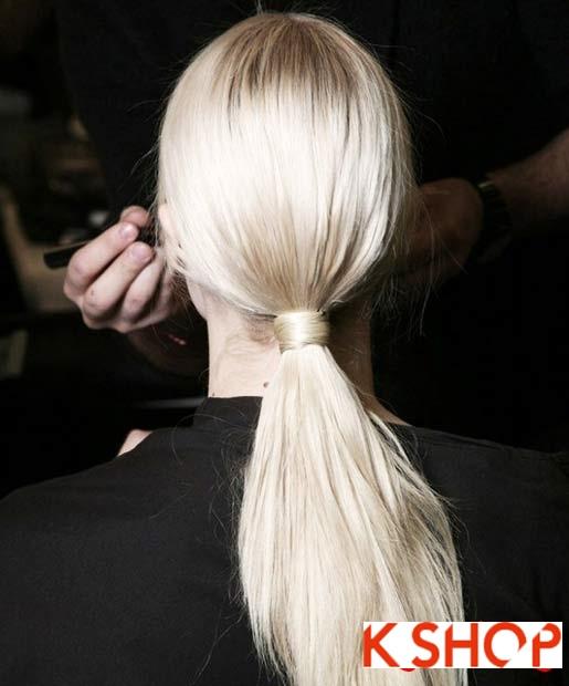 15 Kiểu tóc đuôi ngựa đẹp 2016 cho bạn gái trẻ trung dễ thương phần 15