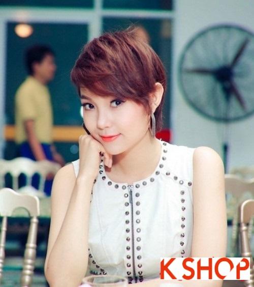 Top 3 kiểu tóc ngắn đẹp đang cực hot của sao Việt trong năm 2017 phần 6