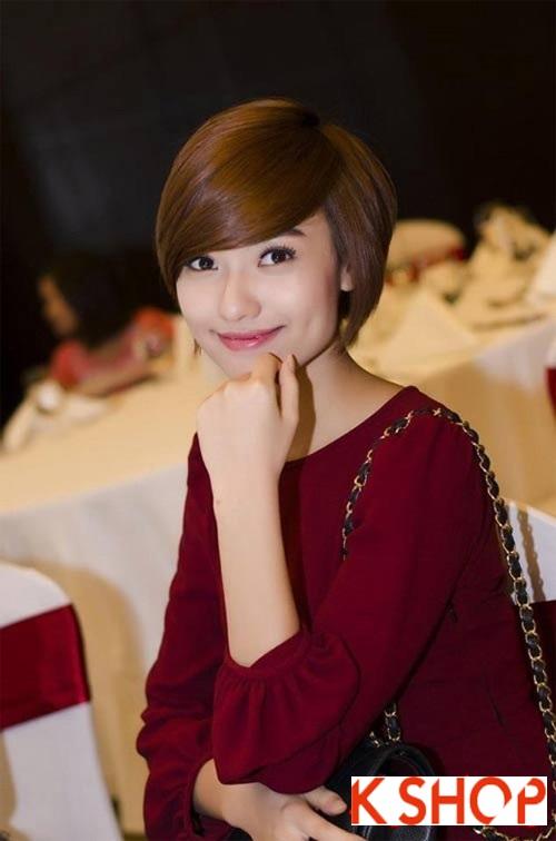 Top 3 kiểu tóc ngắn đẹp đang cực hot của sao Việt trong năm 2017 phần 7