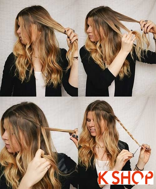 Cách tạo 8 kiểu tóc tết đẹp đón hè 2017 khiến giới trẻ phát cuồng phần 1