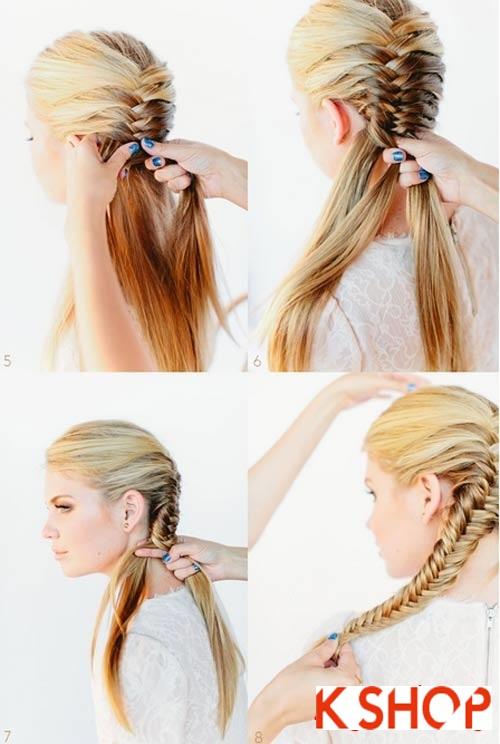 Cách tạo 8 kiểu tóc tết đẹp đón hè 2017 khiến giới trẻ phát cuồngt phần 13