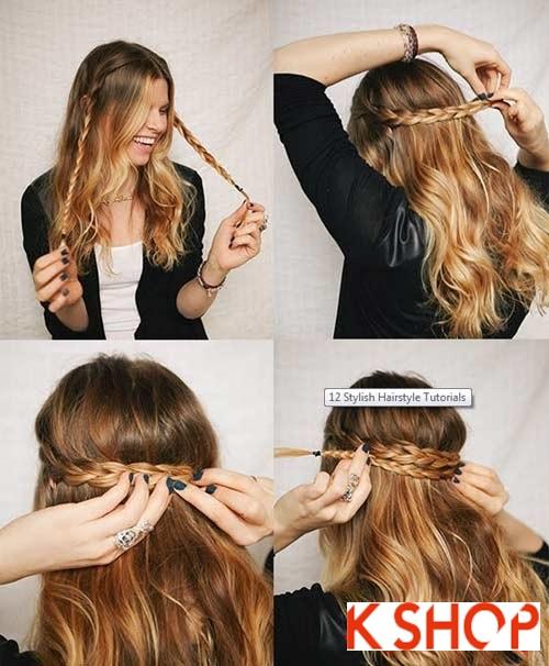 Cách tạo 8 kiểu tóc tết đẹp đón hè 2017 khiến giới trẻ phát cuồng phần 2
