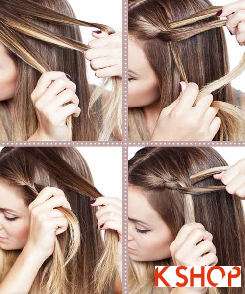 Cách tạo 8 kiểu tóc tết đẹp đón hè 2017 khiến giới trẻ phát cuồng phần 3