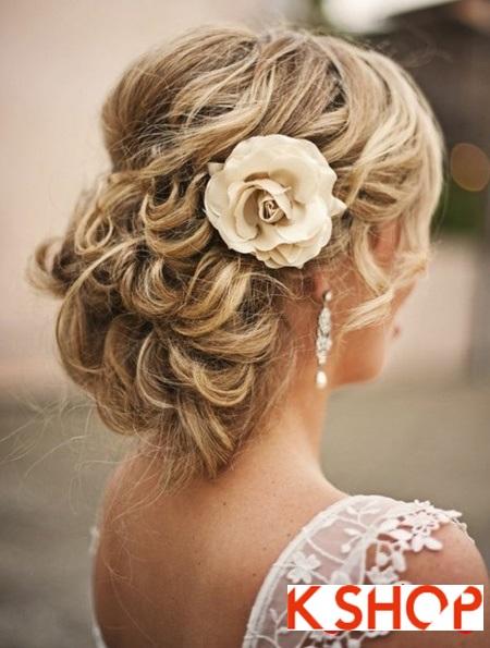 Búi tóc đẹp 2017 cho cô dâu lãng mạn quyến rũ cuốn hút ngày cưới phần 1