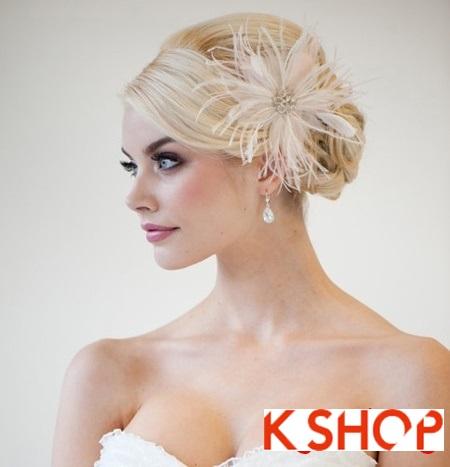 Búi tóc đẹp 2017 cho cô dâu lãng mạn quyến rũ cuốn hút ngày cưới phần 11