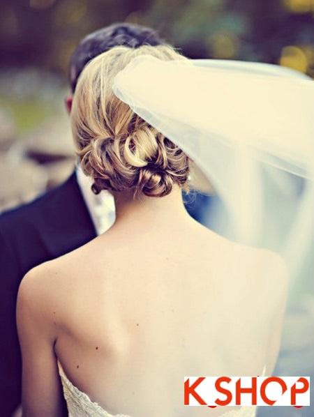 Búi tóc đẹp 2017 cho cô dâu lãng mạn quyến rũ cuốn hút ngày cưới phần 12