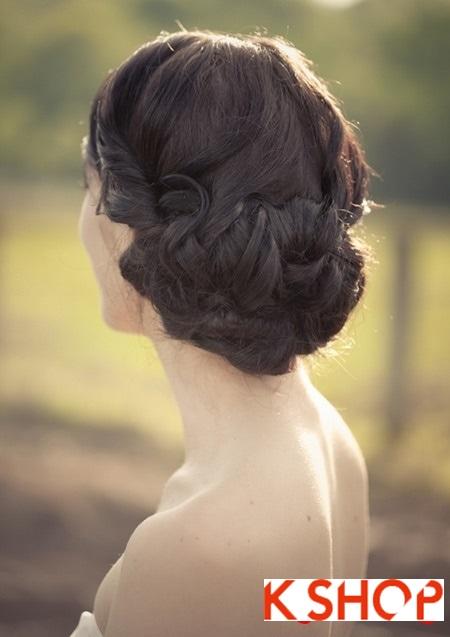Búi tóc đẹp 2017 cho cô dâu lãng mạn quyến rũ cuốn hút ngày cưới phần 13