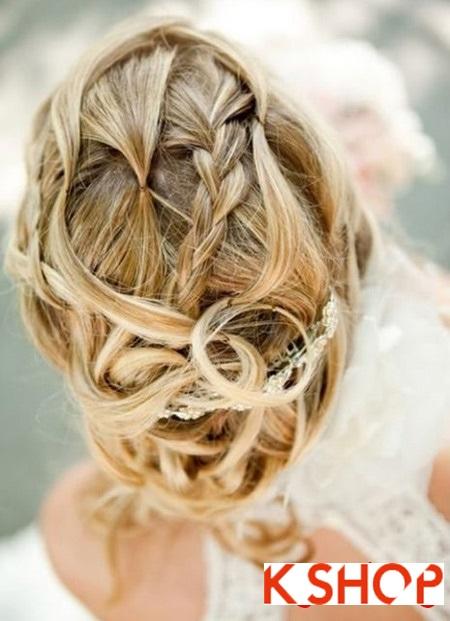 Búi tóc đẹp 2017 cho cô dâu lãng mạn quyến rũ cuốn hút ngày cưới phần 16