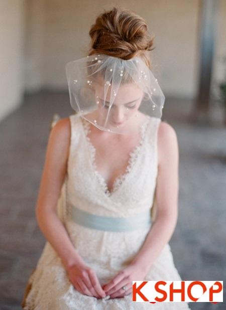 Búi tóc đẹp 2017 cho cô dâu lãng mạn quyến rũ cuốn hút ngày cưới phần 17