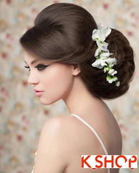 Búi tóc đẹp 2017 cho cô dâu lãng mạn quyến rũ cuốn hút ngày cưới phần 2