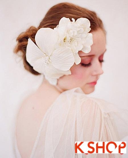 Búi tóc đẹp 2017 cho cô dâu lãng mạn quyến rũ cuốn hút ngày cưới phần 8