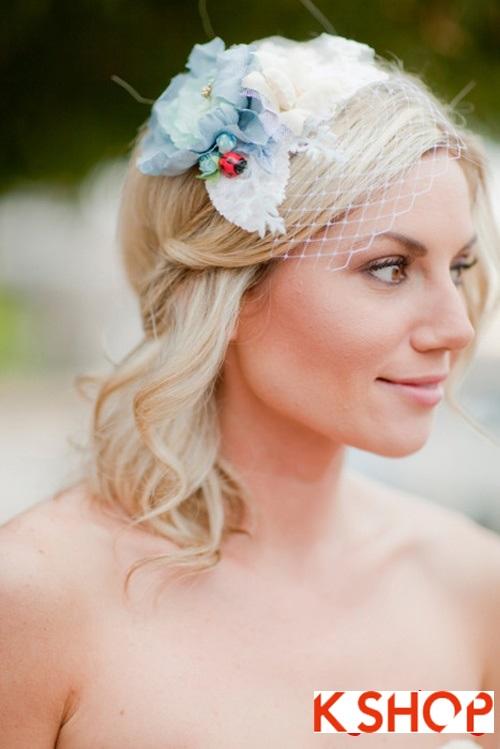 Búi tóc đẹp 2017 cho cô dâu lãng mạn quyến rũ cuốn hút ngày cưới phần 9