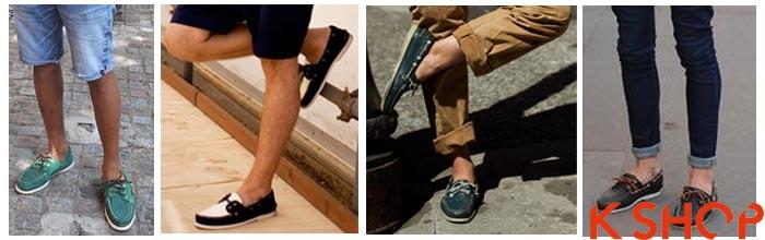 Giày lười nam đẹp cho chàng sành điệu cá tính thời trang giày nam hè 2015 phần 1