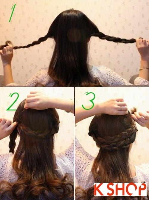 3 Cách tết tóc đẹp đơn giản dễ làm cho cô nàng dạo phố cuối tuần phần 1