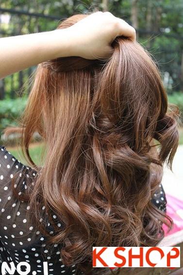 Hướng dẫn cách búi tóc xoăn đẹp 2014-2015 đơn giản cho cô nàng dễ thương trẻ trung đầy lôi cuốn phần 1