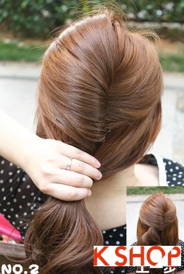 Cách búi tóc xoăn đẹp 2017 đơn giản tại nhà cho bạn gái duyên dáng phần 7