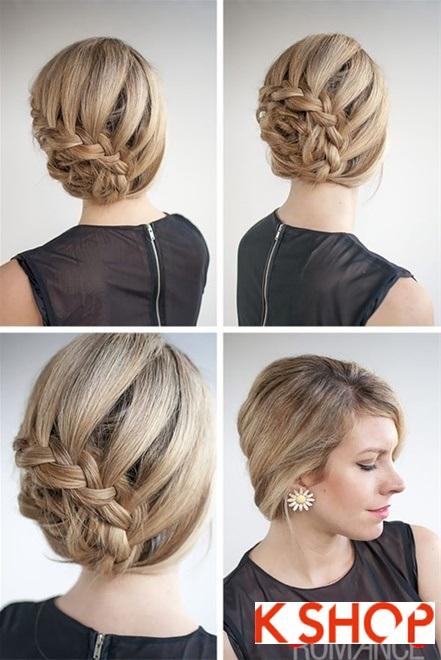 Cách làm 3 kiểu tóc búi đẹp đơn giản dễ làm tại nhà cho bạn gái 2016 phần 3