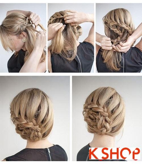 Cách làm 3 kiểu tóc búi đẹp đơn giản dễ làm tại nhà cho bạn gái 2016 phần 5