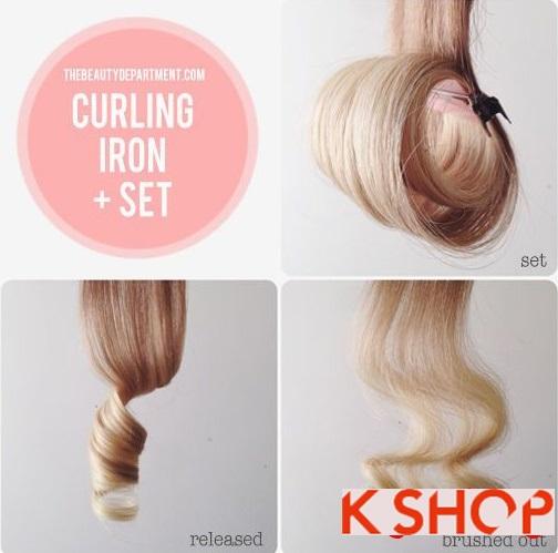 Mẹo cách làm tóc uốn xoăn cực đẹp đơn giản tại nhà chỉ với 10 phút phần 5