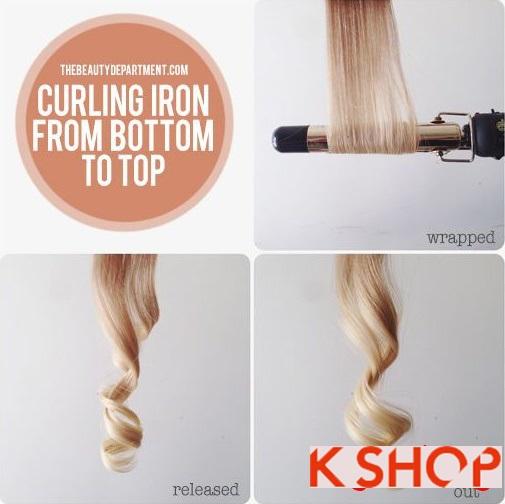 Mẹo cách làm tóc uốn xoăn cực đẹp đơn giản tại nhà chỉ với 10 phút phần 6