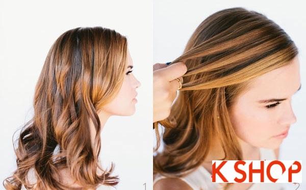 Cách tết tóc thác nước cực đẹp cho bạn gái mái tóc dài trong vòng 1 nốt nhạc phần 1