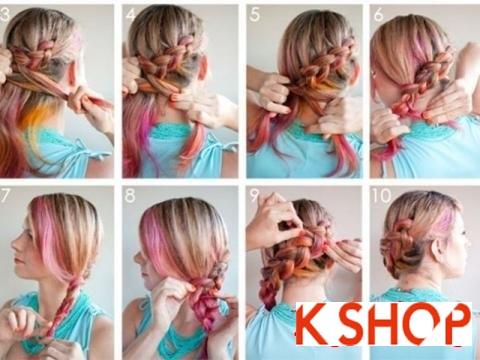 Cách tết tóc đẹp hàn quốc dễ làm tại nhà cho nàng đáng yêu lôi cuốn phần 2