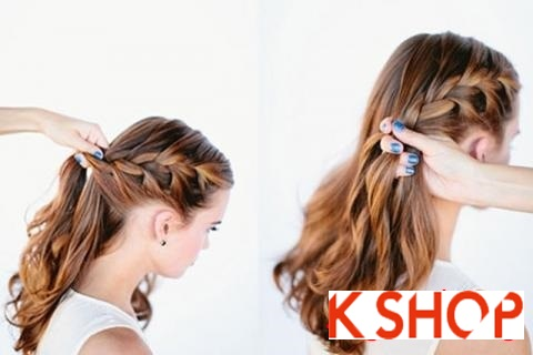 Cách tết tóc đẹp hàn quốc dễ làm tại nhà cho nàng đáng yêu lôi cuốn phần 3