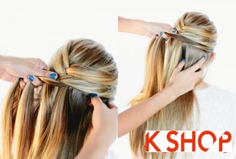 Cách tết tóc đẹp hàn quốc dễ làm tại nhà cho nàng đáng yêu lôi cuốn phần 8