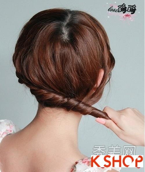Cách tạo 2 kiểu tóc cực đẹp đơn giản cho bạn gái xinh xắn dạo phố phần 10