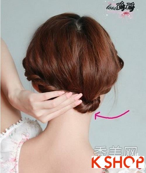 Cách tạo 2 kiểu tóc cực đẹp đơn giản cho bạn gái xinh xắn dạo phố phần 11