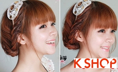 Cách tạo 2 kiểu tóc cực đẹp đơn giản cho bạn gái xinh xắn dạo phố phần 13
