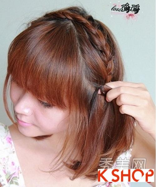Cách tạo 2 kiểu tóc cực đẹp đơn giản cho bạn gái xinh xắn dạo phố phần 3