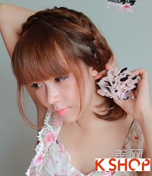 Cách tạo 2 kiểu tóc cực đẹp đơn giản cho bạn gái xinh xắn dạo phố phần 5