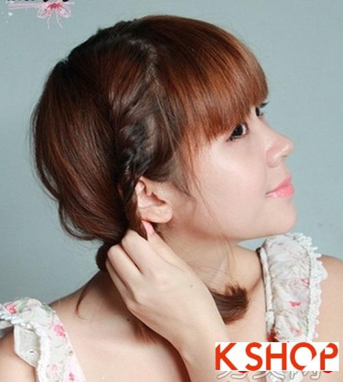 Cách tạo 2 kiểu tóc cực đẹp đơn giản cho bạn gái xinh xắn dạo phố phần 9