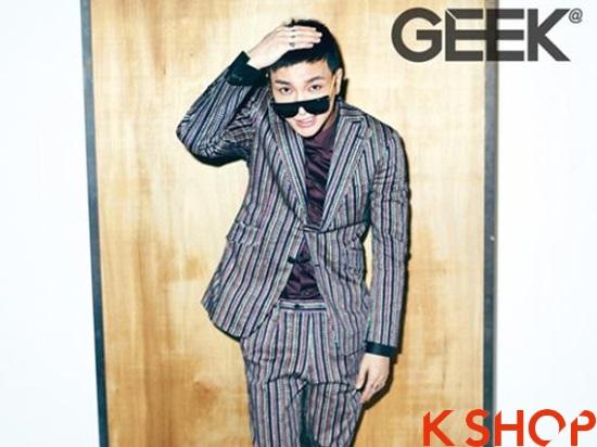 Những kiểu tóc nam đẹp 2016 nổi bật trên tạp chí của sao kpop Hàn Quốc phần 14