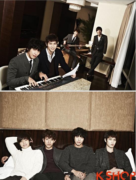 Những kiểu tóc nam đẹp 2016 nổi bật trên tạp chí của sao kpop Hàn Quốc phần 2