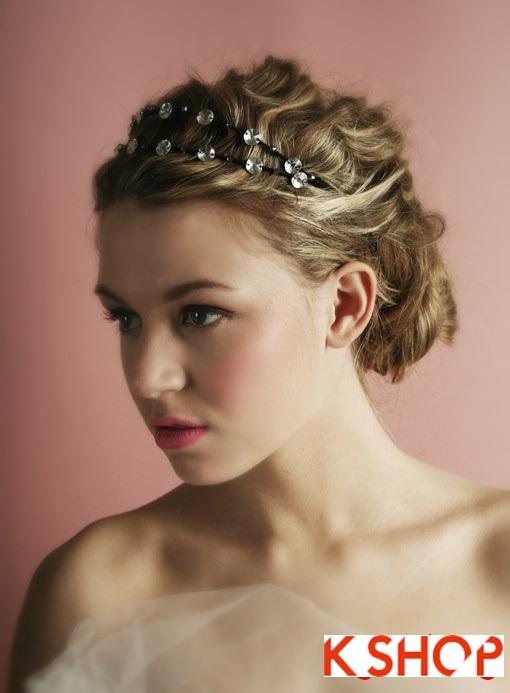 Những kiểu tóc cô dâu Hàn Quốc đẹp cho bạn gái dễ thương quyến rũ phần 12