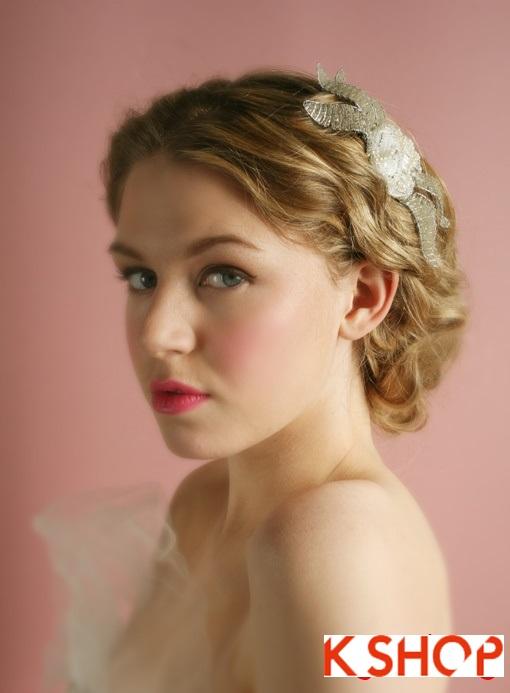 Những kiểu tóc cô dâu Hàn Quốc đẹp cho bạn gái dễ thương quyến rũ phần 8