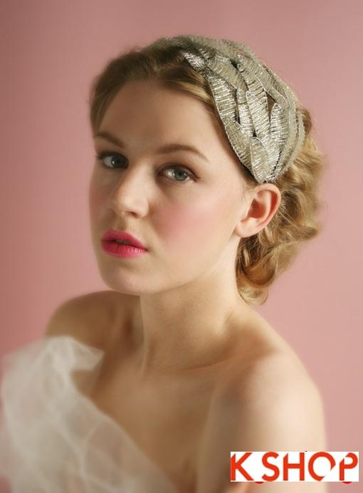 Những kiểu tóc cô dâu Hàn Quốc đẹp cho bạn gái dễ thương quyến rũ phần 9