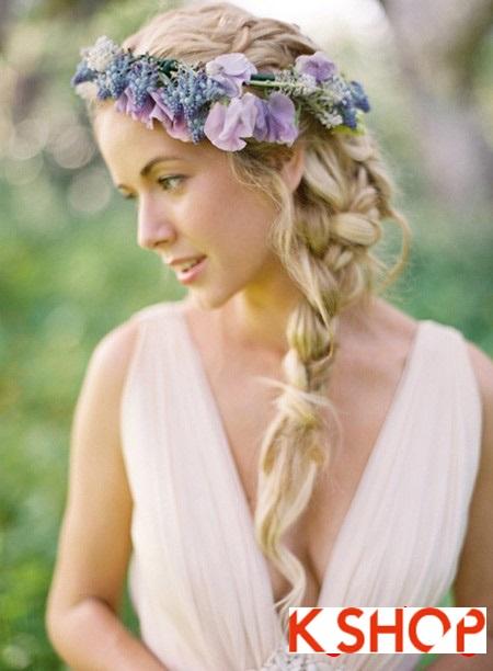 Những kiểu tóc cô dâu đẹp hot nhất 2017 dành riêng cho ngày cưới phần 4