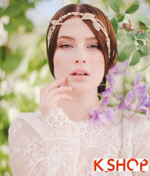Bật mí kiểu tóc đẹp cho cô dâu đầy quyến rũ lãng mạn trong ngày cưới phần 1