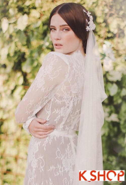 Bật mí kiểu tóc đẹp cho cô dâu đầy quyến rũ lãng mạn trong ngày cưới phần 10