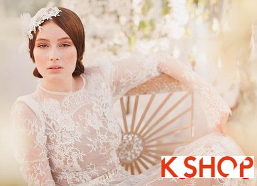Bật mí kiểu tóc đẹp cho cô dâu đầy quyến rũ lãng mạn trong ngày cưới phần 11