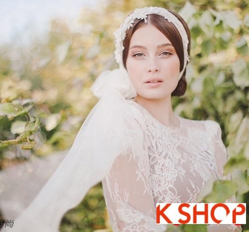 Bật mí kiểu tóc đẹp cho cô dâu đầy quyến rũ lãng mạn trong ngày cưới phần 12