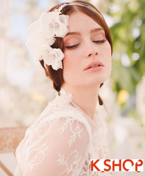 Bật mí kiểu tóc đẹp cho cô dâu đầy quyến rũ lãng mạn trong ngày cưới phần 13